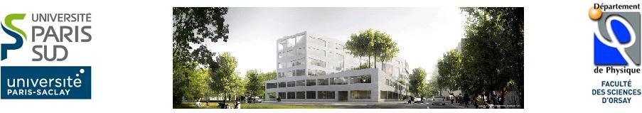 Département de Physique-UFR Sciences Orsay